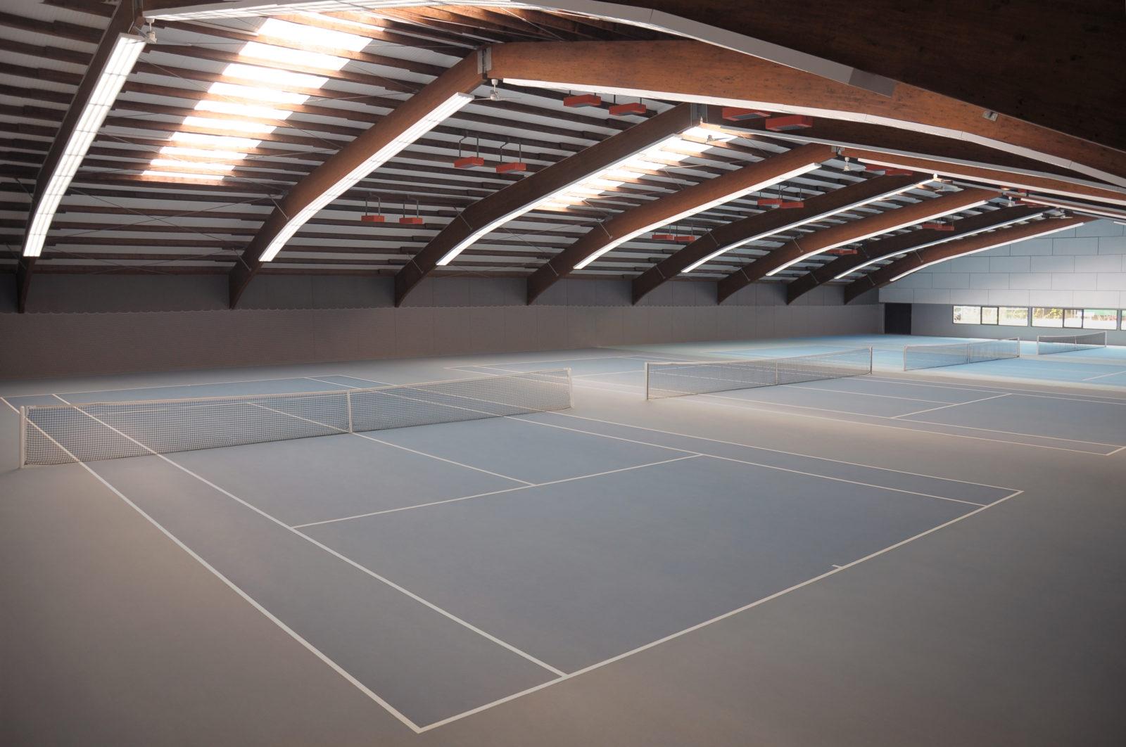 Tennishalle Tiengen