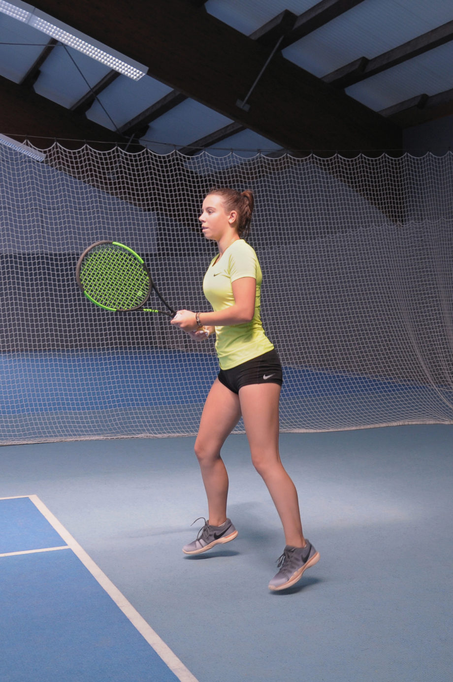 Training Tennis Konzentration